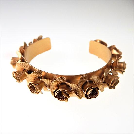 SARAH CAVENDER Gold Rose Cuff