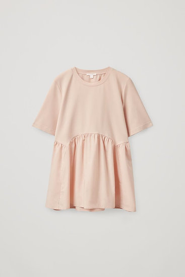 Cos Cotton Short Sleeve Top