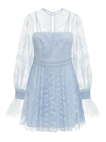 ALICE McCall Blue Mini Dress