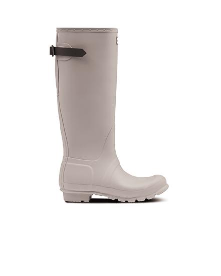 HUNTER UK ROW Women's Original Tall Back Adjustable Wellington Boots