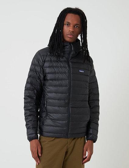 Patagonia Down  Hooded Black Jacket