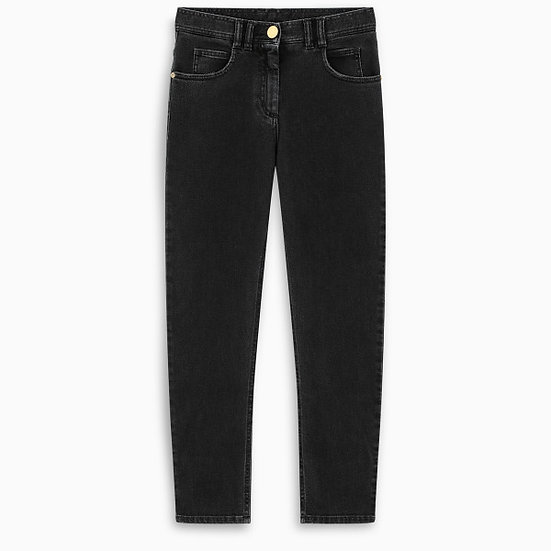 BALMAIN Black Slim Fit Jeans