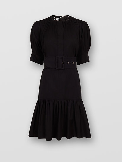 CHLOÉ Belted Cotton Dress