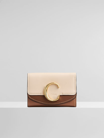 CHLOE C Mini Tri Fold Wallet