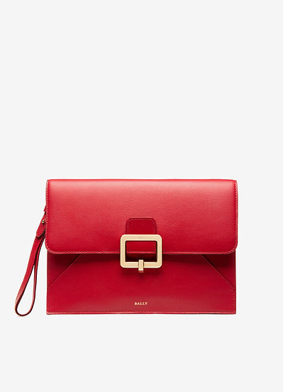 BALLY Jahris Red Wallet