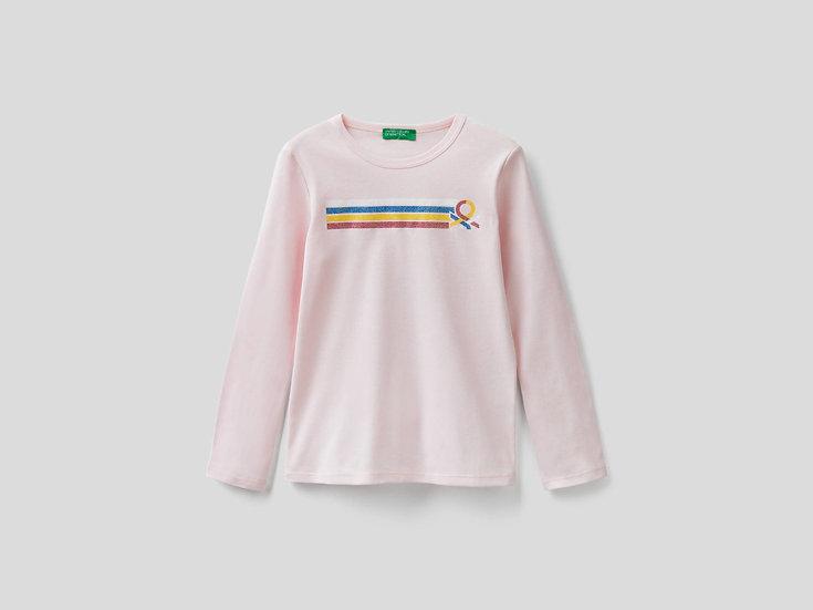 BENETTON EU Girl Long Sleeve T-shirt