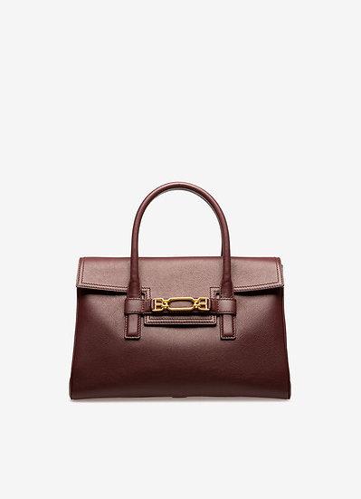 BALLY Vesper Leather Top Handle Bag