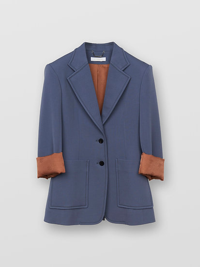 CHLOÉ Cinched wool jacket Virgin Wool