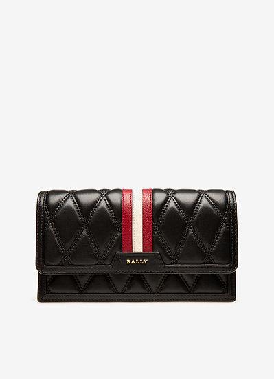 BALLY UK Dafford Black Leather Wallet