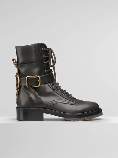 CHLOÉ Diane Women Lace-up Calf Leather Boot