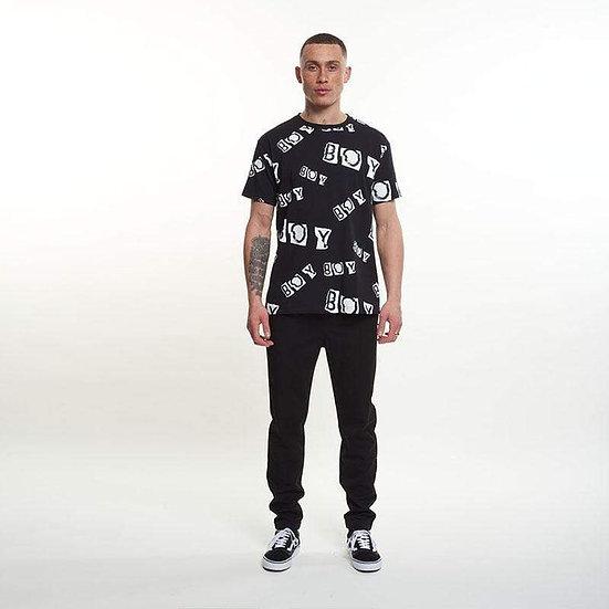 BOY London Collage Black/White T-shirt
