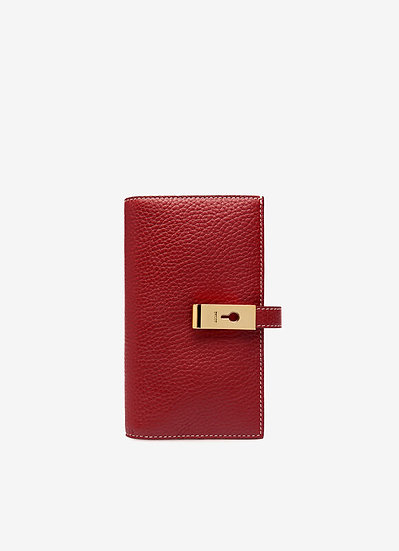 BALLY Amber Leather Wallet