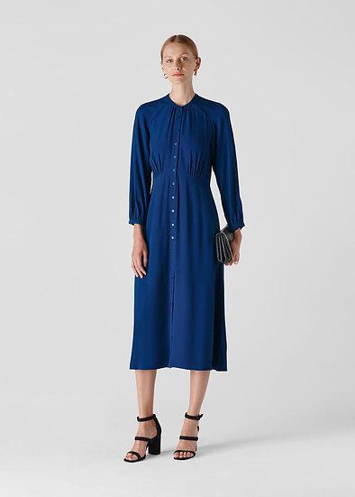 WHISTLES Dark Blue Eloise Dress