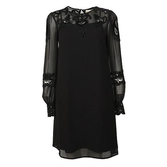 MICHAEL KORS Black Velvet Dress