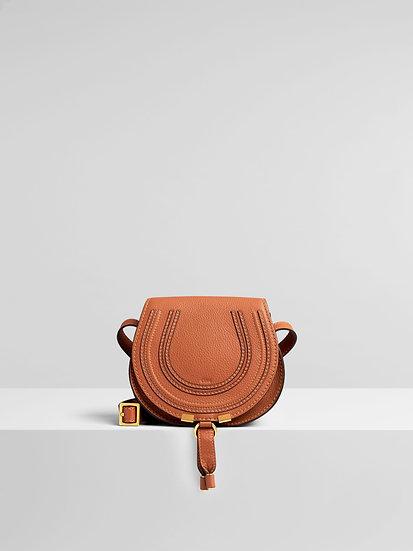 CHLOÉ Marcie Round Saddle Mini Bag