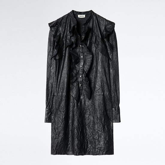 ZADIG + VOLTAIRE Ruskies Leather Dress