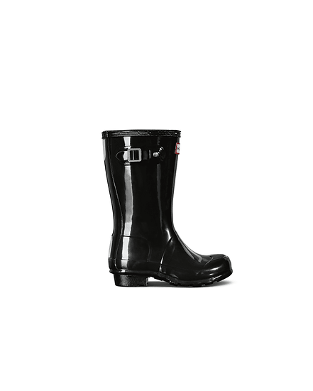 HUNTER UK Original Big Kids Gloss Wellington Boots