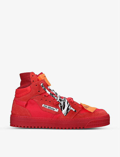 OFF-WHITE C/O VIRGIL ABLOH Leather Trainers at selfridges
