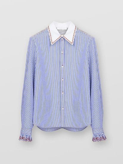 CHLOE Stripped Shirt
