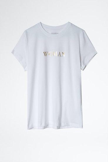 ZADIG + VOLTAIRE Zoe Quote T-shirt