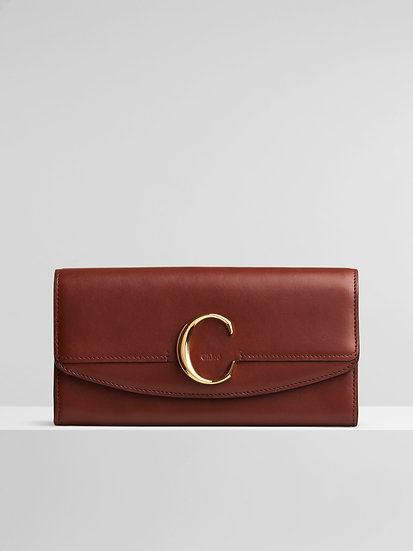 CHLOÉ Leather Chloé long wallet