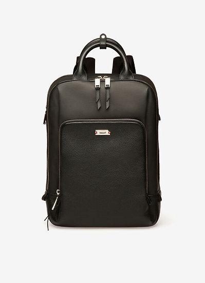 BALLY Veltio Coated Canvas & Leather Backpack