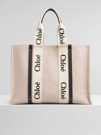 CHLOÉ Large Woody Tote Bag