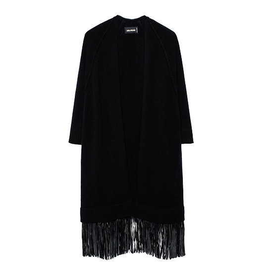 ZADIG & VOLTAIRE Cashmere Long Cardigan