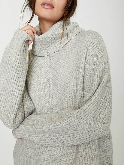 BROCHU WALKER Women Turtleneck Jumper