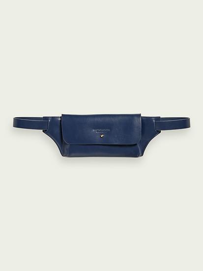 SCOTCH & SODA Leather Belt Bag for Women