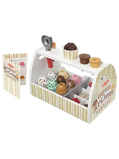 Ice Cream Counter at John Lewis