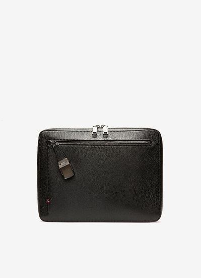 BALLY Gabher Men Leather Portfolio