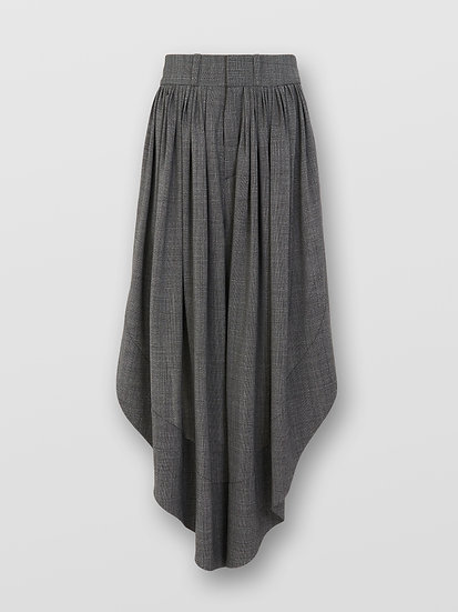 CHLOE Fluid Checks Trousers