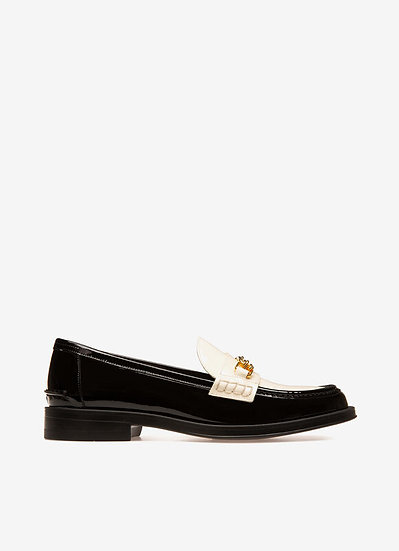 BALLY UK Elodie Women Leather Flats