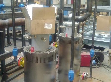 Блок подогрева газа на АВГМ