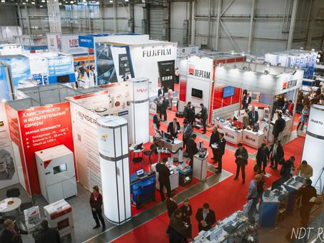 22-24 октября прошла Международная выставка оборудования для неразрушающего контроля NDT Russia 2019