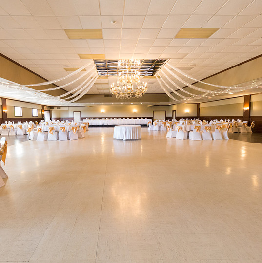 Ballroom in Gold