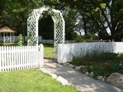 Terrace Garden Entry