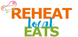 Reheat Local Eats Logo with Transparent