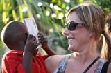 Gina in Haiti