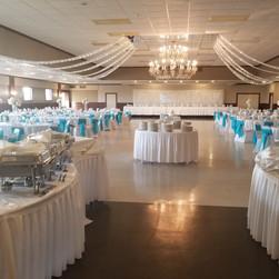Ballroom from buffet