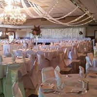 Ballroom with lights and tulle