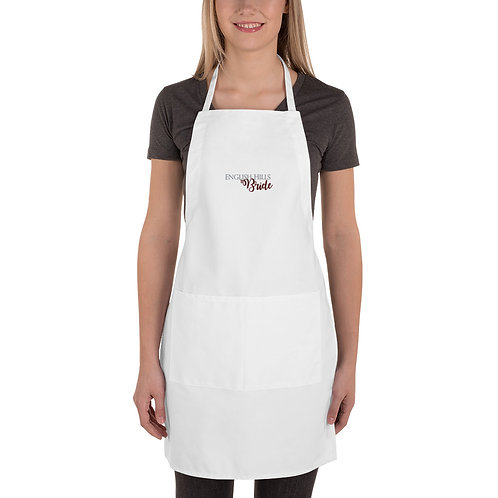 Embroidered Apron - English Hills Bride