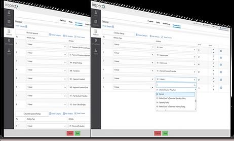 inspectX form customization