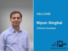Nipun Singhal joins Bridge Intelligence as a Software Developer