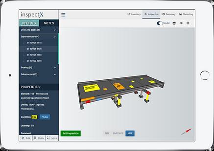 inspectX app - 3D model inspection