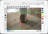 inspectX app sketch functionality