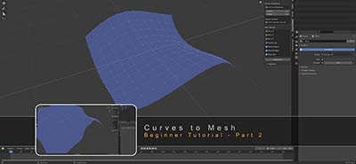 Curves to Mesh: Beginner's Tutorial