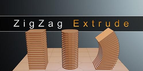 ZigZag Extrude