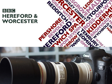 Interview with BBC Hereford & Worcester for #Lockdown doorstep family photos